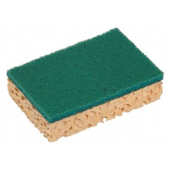 Sponge viscose with Scouring Pads ( 10-pack)