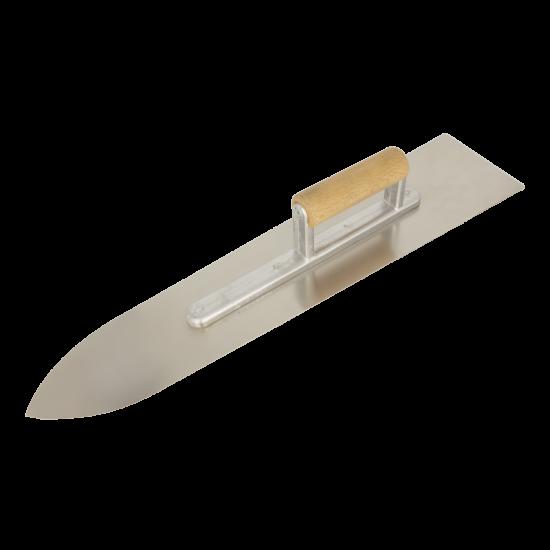 Smoothing trowel, sword type, S/S