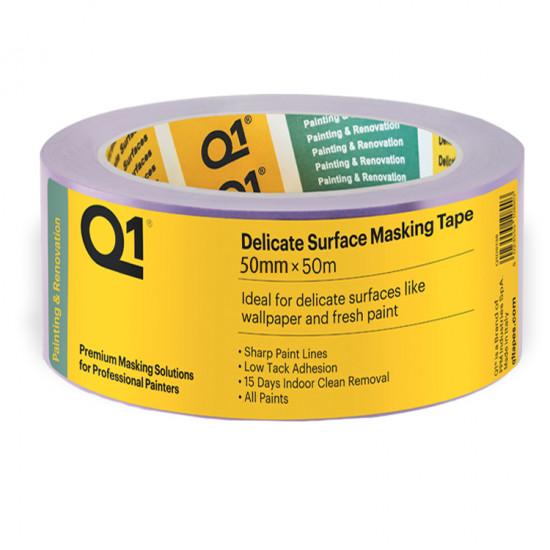 Q1 Delicate tape 50 mm x 50 mtr
