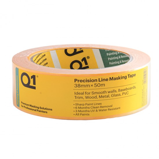 Q1 Precision tape 38 mm x 50 mtr