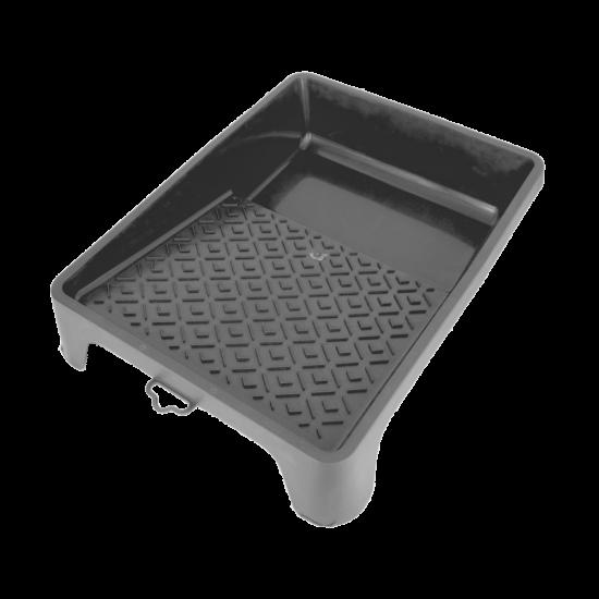 Paint tray plastic black 24 x 32 cm