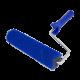 Looped Roller Blue Ø 44 mm, 50 cm + Double Arm Frame