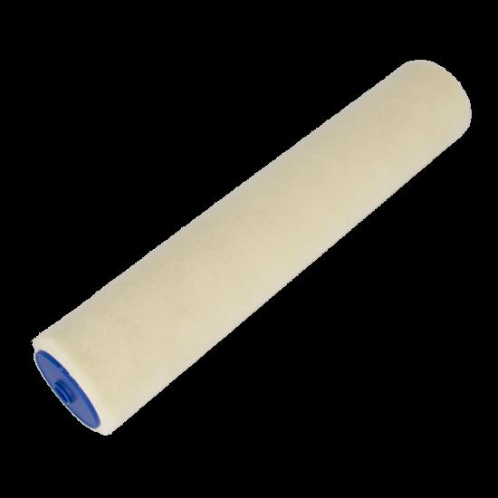 "Velours roller beige Ø 44mm, 40 cm / 15"""