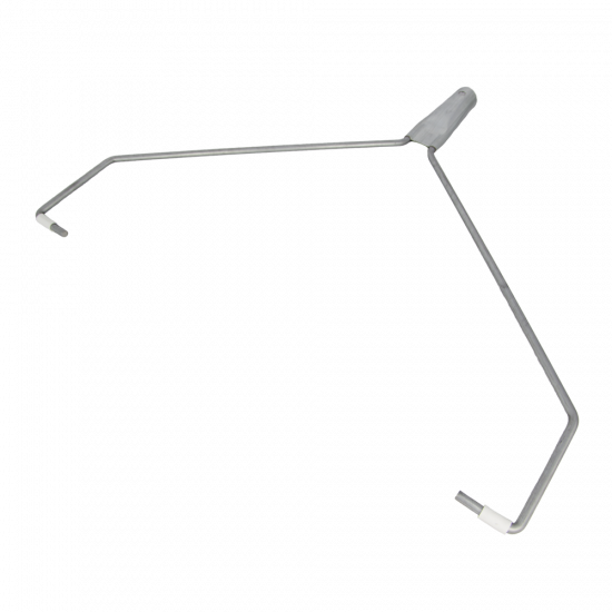 """Double arm wire frame Ø 7 mm, 25 cm /10"""""""