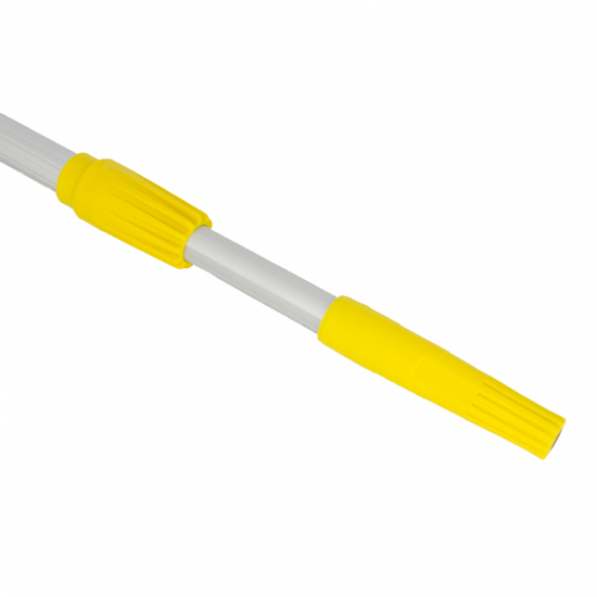 Alu-pro telescopic pole external lock and prof cone