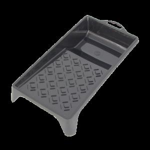 Paint tray plastic black