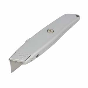 Metal universal cutter, with retractable blade